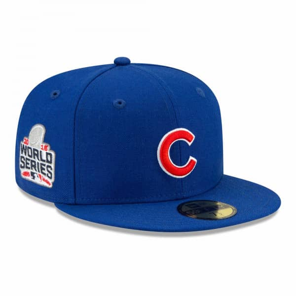 Chicago Cubs 2016 World Series Paisley New Era 59FIFTY Fitted MLB Cap