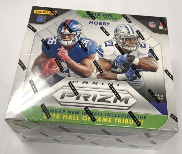 2018 Panini Prizm Football Hobby Box NFL
