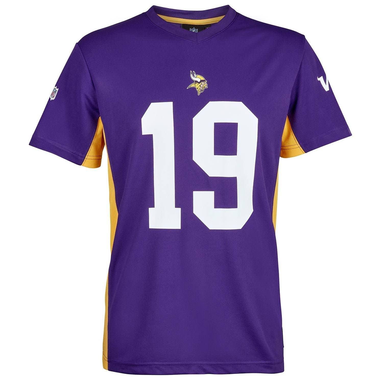 d20cb216c Adam Thielen  19 Minnesota Vikings MORO MESH Jersey NFL T-Shirt ...