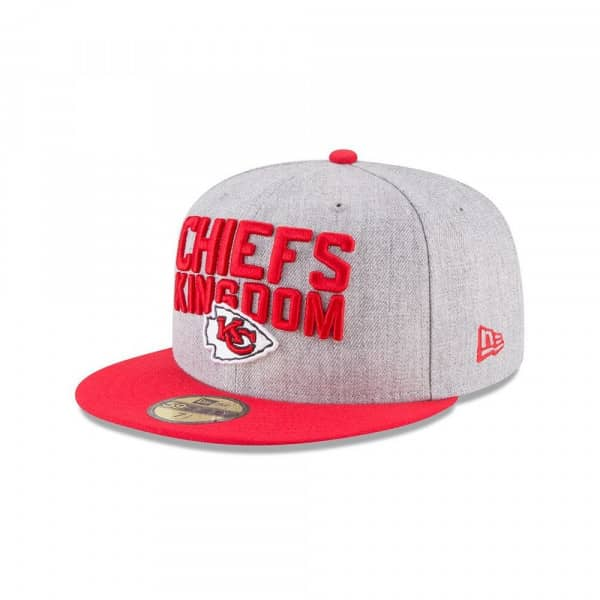 31cc95dc962 New Era Kansas City Chiefs 2018 NFL Draft 59FIFTY Fitted Cap
