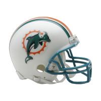 Miami Dolphins Football NFL Throwback Mini Helmet (1997-2012)