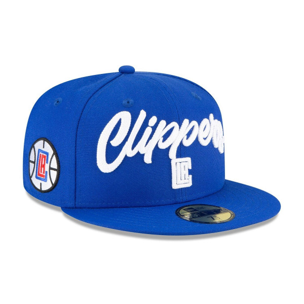 Los Angeles Clippers Alternate Authentic 2020 NBA Draft New Era 59FIFTY Fitted Cap