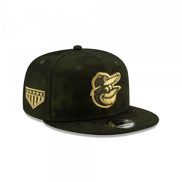 Baltimore Orioles 2019 Armed Forces Day 9FIFTY Snapback MLB Cap
