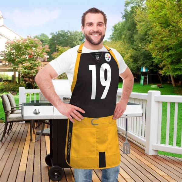 JuJu Smith-Schuster #19 Pittsburgh Steelers NFL Spielerschürze