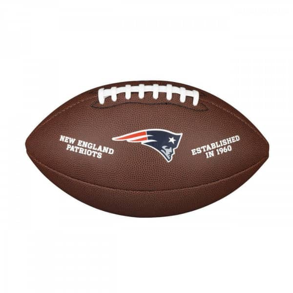New England Patriots Composite Full Size NFL Football