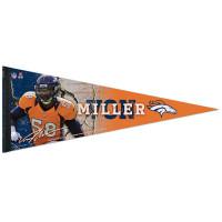 Von Miller Denver Broncos Premium NFL Wimpel