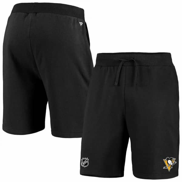 Pittsburgh Penguins Essentials Fanatics NHL Sweat Shorts Schwarz