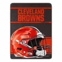 Cleveland Browns Run Northwest Super Plush NFL Decke