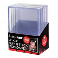 "Ultra Pro Toploader 3 x 4"" (Patches 6 mm) - 180pt"