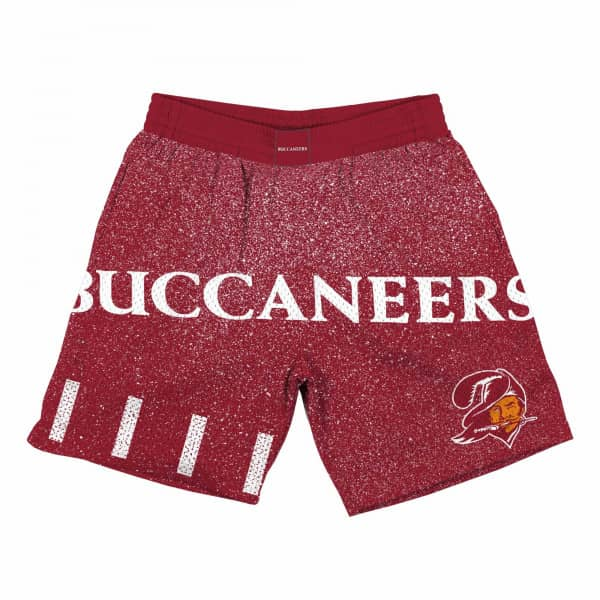 Tampa Bay Buccaneers Jumbotron Throwback Mitchell & Ness NFL Shorts Rot