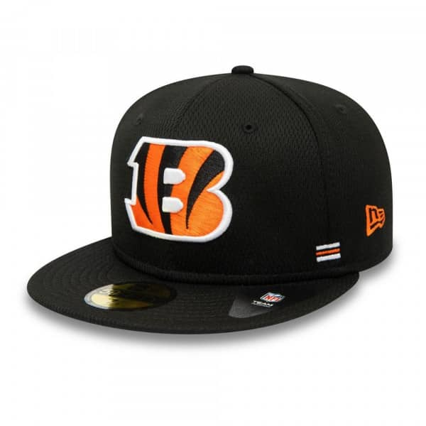 Cincinnati Bengals Unofficial 2020 NFL Sideline New Era 59FIFTY Fitted Cap Home