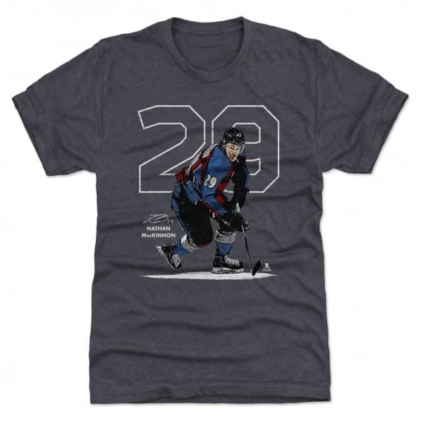 Nathan MacKinnon Colorado #29 NHL T-Shirt