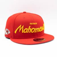 Patrick Mahomes II Kansas City Chiefs Script New Era 9FIFTY NFL Snapback Cap