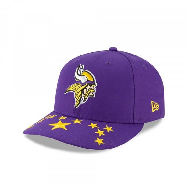 Minnesota Vikings 2019 NFL Draft On-Stage Low Profile 59FIFTY Cap