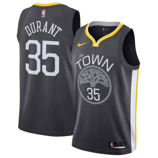25de3143387 Nike Kevin Durant  35 Golden State Warriors Statement Swingman NBA Jersey