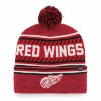 Detroit Red Wings Cuff Pom '47 Ice Knit NHL Wintermütze