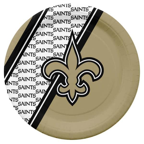 New Orleans Saints Partyware NFL Pappteller Set (20 Stk.)