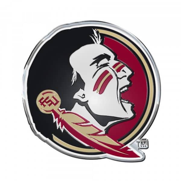 Florida State Seminoles Aluminium Color NCAA Team Emblem