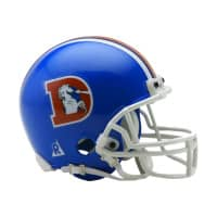 Denver Broncos NFL Throwback Mini Helmet (1975-96)