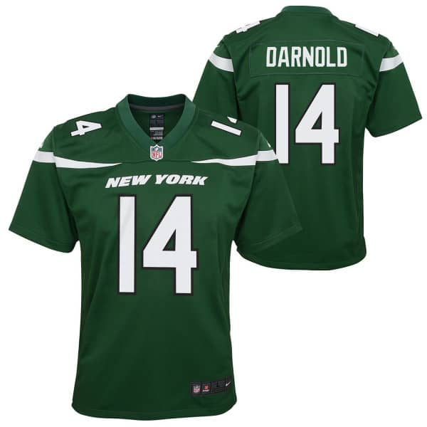 Sam Darnold #14 New York Jets Youth NFL Trikot Grün (KINDER)