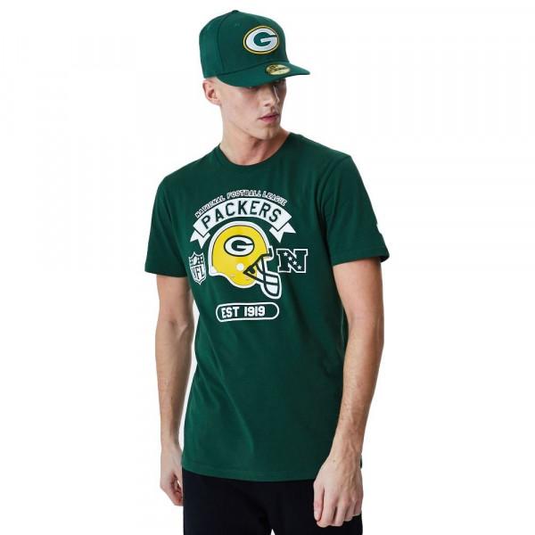 Green Bay Packers 2020 Helmet Graphic NFL T-Shirt
