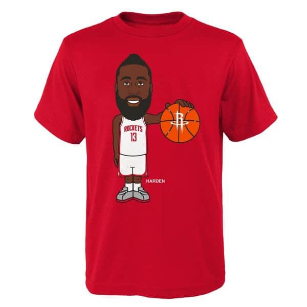 James Harden Houston Rockets Geeked Up NBA T-Shirt
