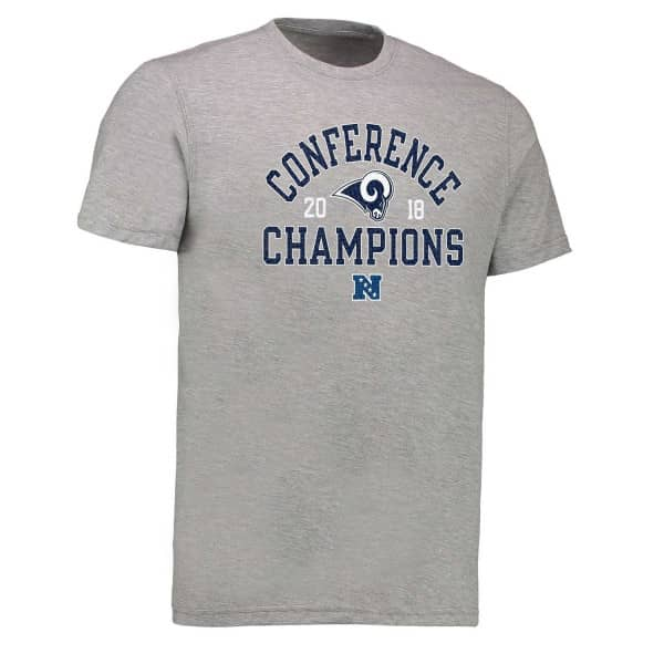 Los Angeles Rams 2018 NFC Conference Champions NFL T-Shirt