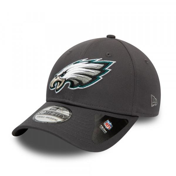 Philadelphia Eagles Team New Era 39THIRTY Flex Fit NFL Cap Grau