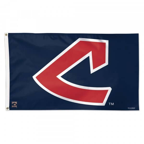 Cleveland Indians Cooperstown Deluxe MLB Hissfahne