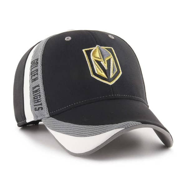 47 Brand Vegas Golden Knights Neutral Zone MVP Adjustable NHL Cap ... ca000d7462ed