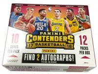 2017/18 Panini Contenders Basketball Hobby Box NBA