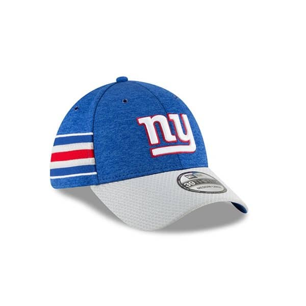 a5e78d1eed5cf New Era New York Giants 2018 NFL Sideline 39THIRTY Flex Cap Home ...