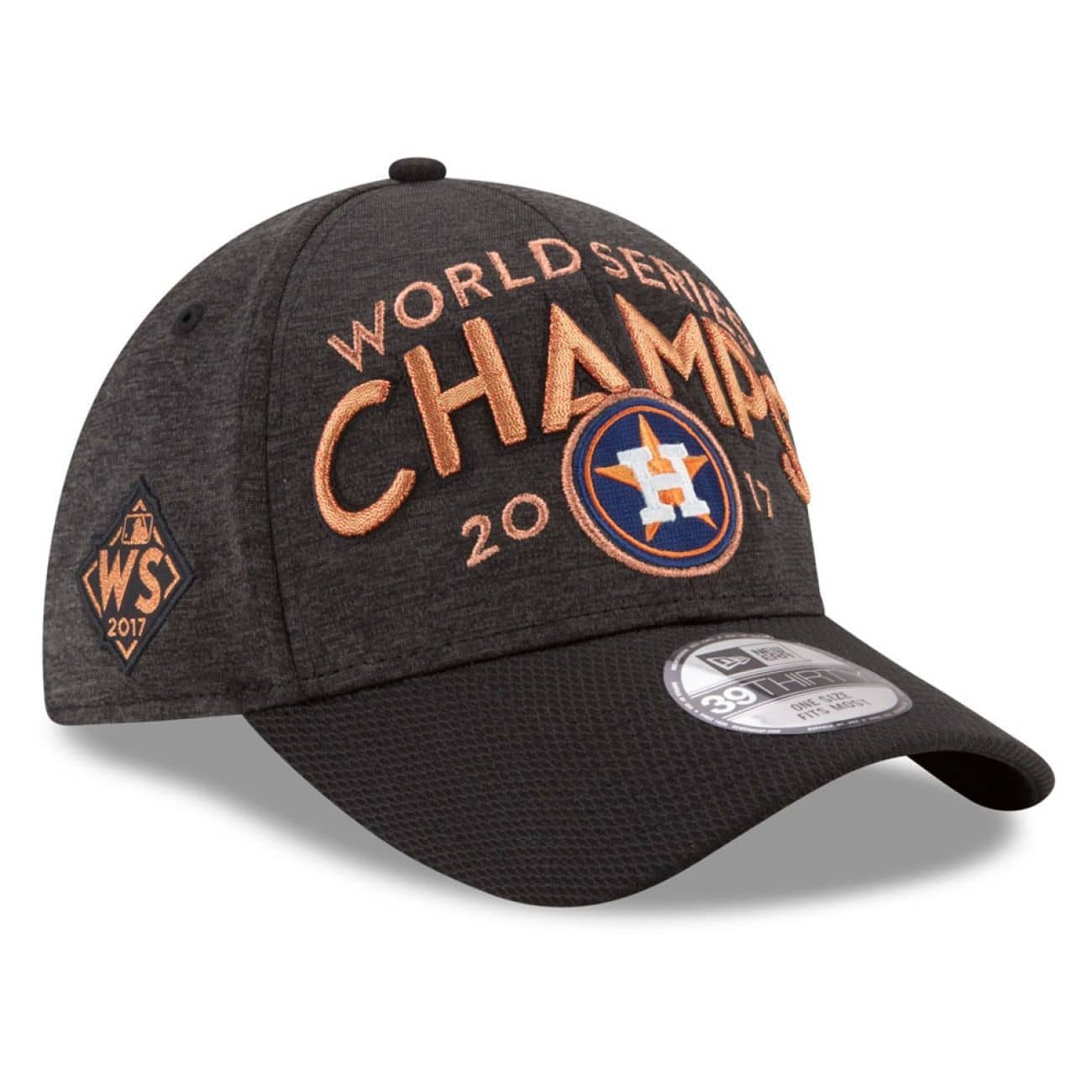 d8657930669 New Era Houston Astros 2017 World Series Champions Locker Room 39Thirty Hat