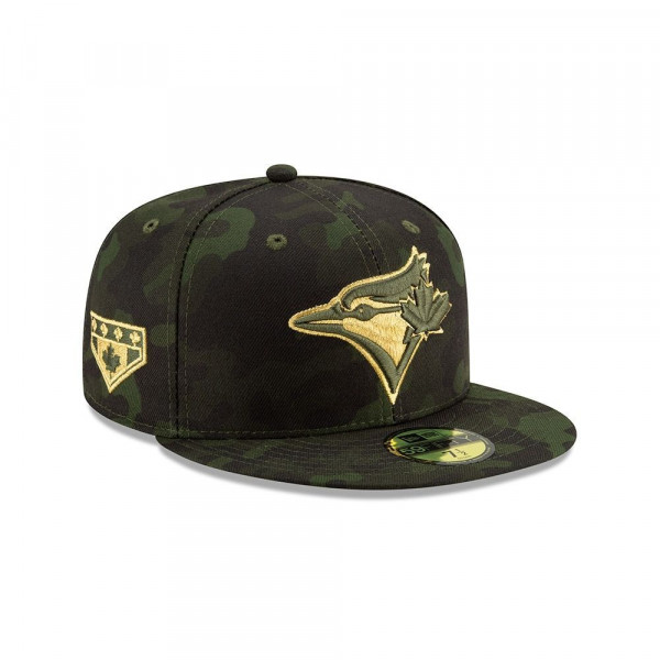 Toronto Blue Jays 2019 Armed Forces Day On-Field 59FIFTY MLB Cap