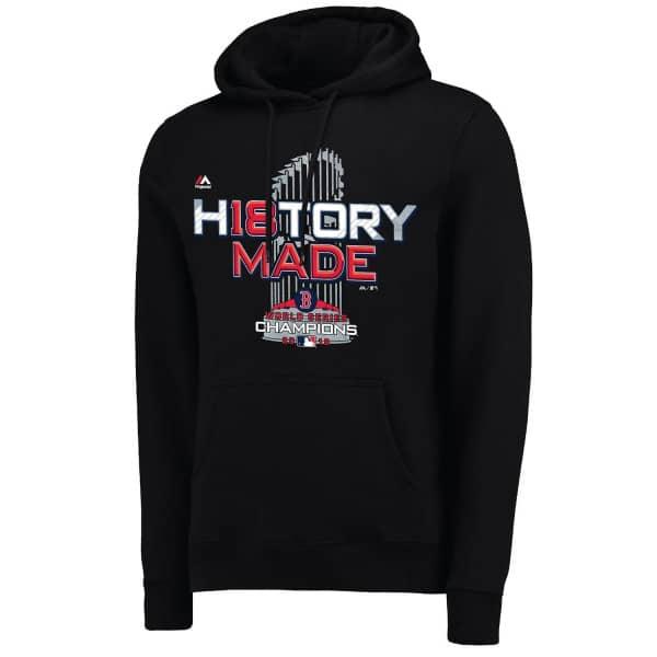Boston Red Sox 2018 World Series Champs Locker Room MLB Hoodie