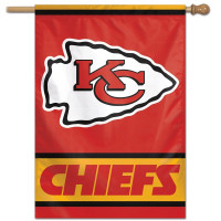 Kansas City Chiefs Vertical NFL Fahne
