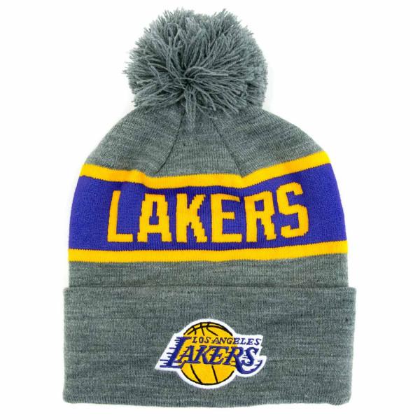 Los Angeles Lakers Team Tone NBA Wintermütze