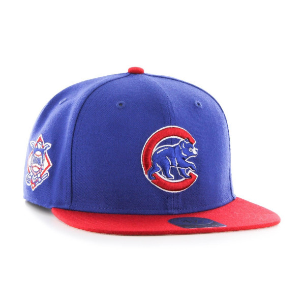 Chicago Cubs Crawl Two-Tone Sure Shot '47 Captain Snapback MLB Cap