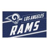 Los Angeles Rams Punch Print NFL Kokos Fußmatte