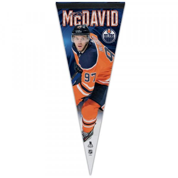 Connor McDavid Edmonton Oilers NHL Wimpel