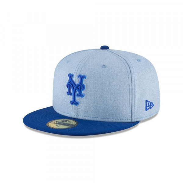 best website 5d455 9f559 New Era New York Mets 2018 Father s Day 59FIFTY Fitted MLB Cap   TAASS.com  Fan Shop