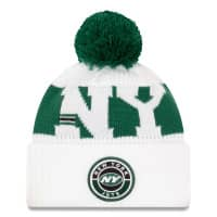 New York Jets 2020 NFL Sideline New Era Sport Knit Wintermütze Secondary