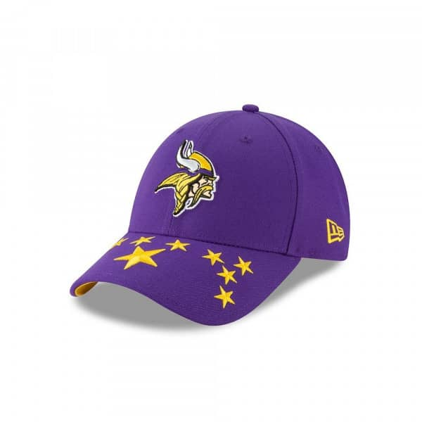 Minnesota Vikings 2019 NFL Draft On-Stage 9FORTY Adjustable Cap