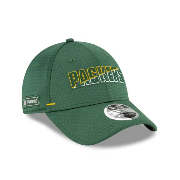 Green Bay Packers 2020 Summer Sideline New Era Stretch-Snap 9FORTY NFL Cap
