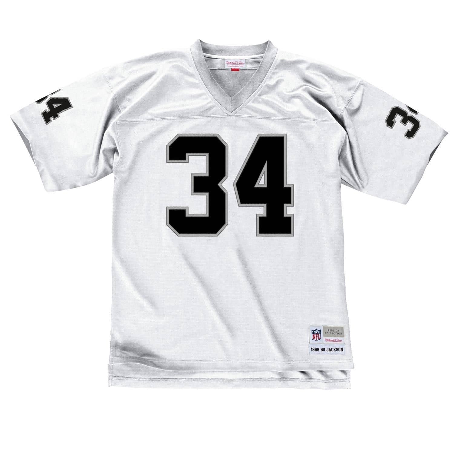 online store f3f0b aa27d Bo Jackson #34 Los Angeles Raiders Legacy Throwback NFL Jersey White
