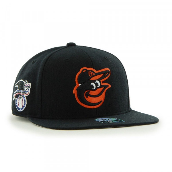 Baltimore Orioles Sure Shot Snapback MLB Cap Schwarz