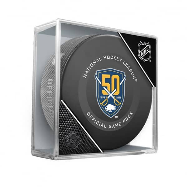 Buffalo Sabres 50th Anniversary NHL Official Game Puck
