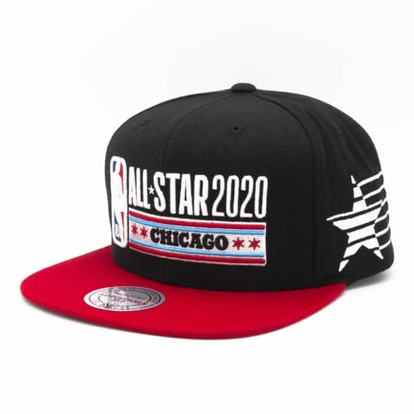 2020 NBA All-Star Game Chicago Star Studded Snapback Cap