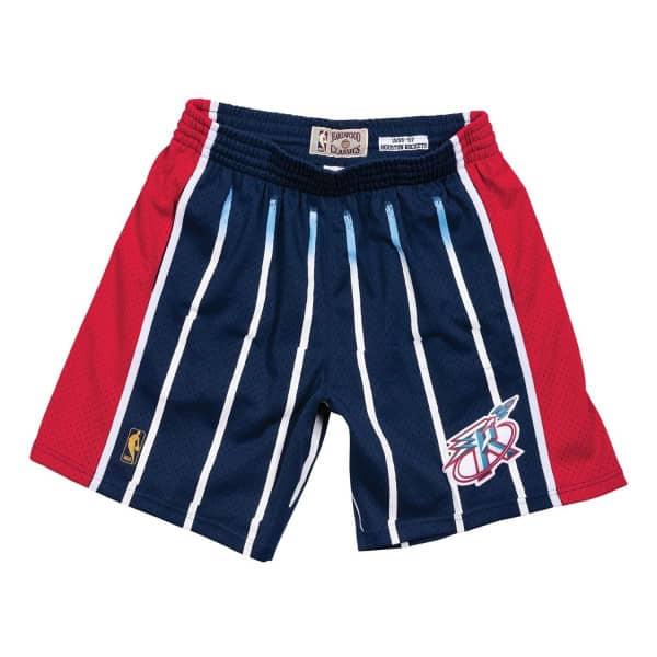 Houston Rockets 1996-97 Swingman NBA Shorts Navy