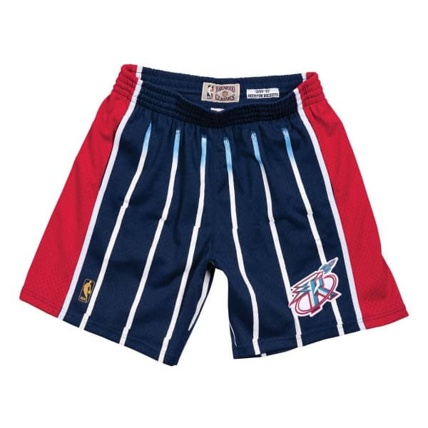 Houston Rockets 1996-97 Mitchell & Ness Swingman NBA Shorts Navy